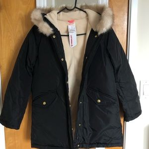 NWT J.Crew (Crewcuts) Girls' Fishtail Parka